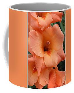 Gladiola In Peach Coffee Mug