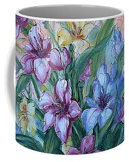 Gladiolus Coffee Mug by Natalie Holland