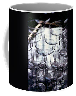 Coffee Mug featuring the photograph New Orleans Toast To The New Year 2017 Abstract by Michael Hoard