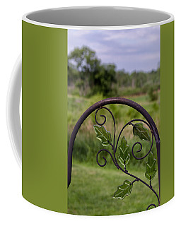 Glass Leaves Coffee Mug