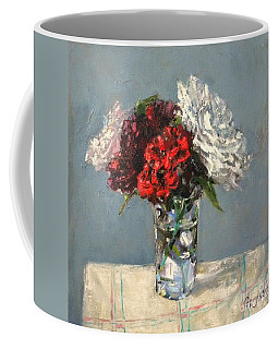 Glass Of Flowers Coffee Mug