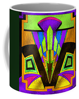 Glass Pattern 5 B Coffee Mug