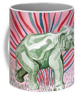 Gleeful Elephant Coffee Mug