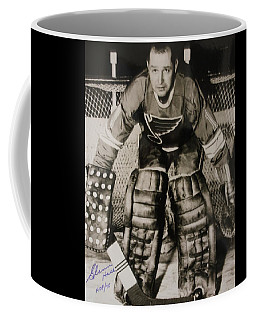 Glenn Hall Poster Coffee Mug