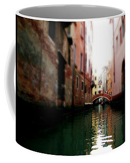 Gliding Along The Canal  Coffee Mug by Micki Findlay