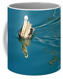 Gliding Coffee Mug by Clare Bevan