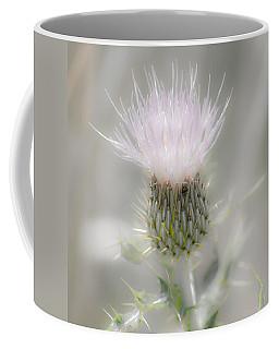 Glimmering Thistle Coffee Mug by Debra Martz
