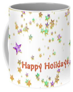 Glittering Holiday Stars Coffee Mug