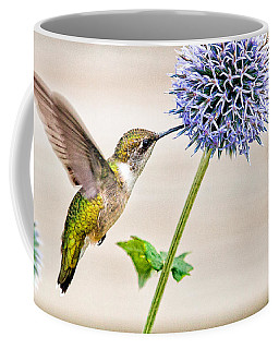 Globe Thistle Hummer Coffee Mug