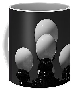 Globes Coffee Mug by Linda Bianic