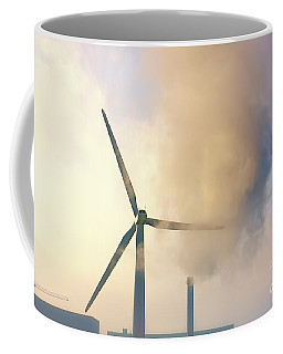 Gloomy Industrial View. Coffee Mug