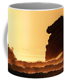 Glorious Afternoon At Morro Bay Coffee Mug by Terry Garvin