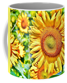 Glorious Sunflowers Coffee Mug