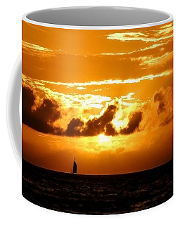 Glorious Sunset Coffee Mug by Kristine Merc