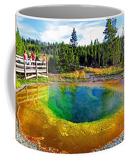 Glory Pool Yellowstone National Park Coffee Mug