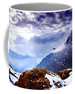 Coffee Mug featuring the painting Glory by Steven Richardson