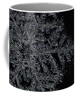 Glow Flake Coffee Mug by Dee Cresswell