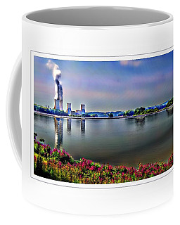Glowing 3 Mile Island Coffee Mug