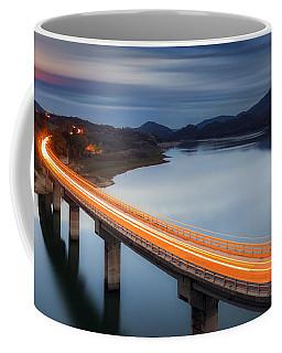 Glowing Bridge Coffee Mug