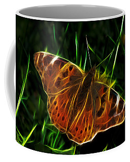 Glowing Butterfly Coffee Mug