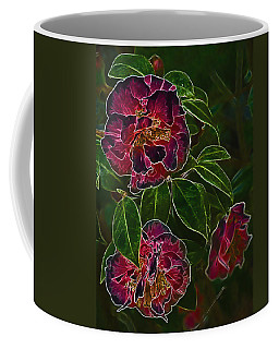 Glowing Camellia Coffee Mug