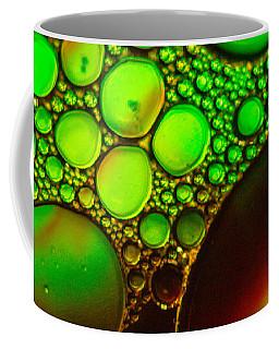 Glowing Green Coffee Mug