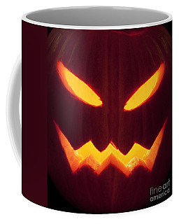 Glowing Pumpkin Coffee Mug