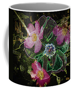 Glowing Wild Rose Coffee Mug