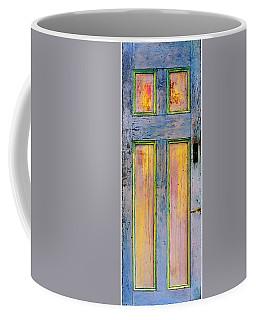Glowingthrough Painted Door Coffee Mug by Asha Carolyn Young
