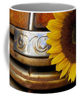 Gmc Sunflower Coffee Mug by Steven Bateson