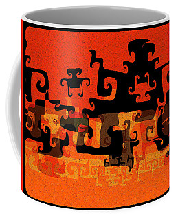 Gnarly Silhouette Parade Coffee Mug