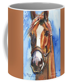Horse Painting Of California Chrome Go Chrome Coffee Mug
