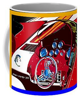 Go Fast Boat Coffee Mug