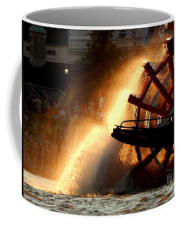 New Orleans Steamboat Natchez On The Mississippi River Coffee Mug by Michael Hoard