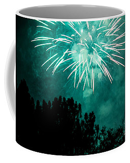 Coffee Mug featuring the photograph Go Green by Suzanne Luft