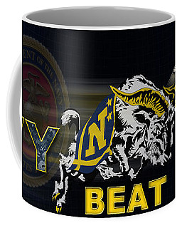 Go Navy Beat Army Coffee Mug