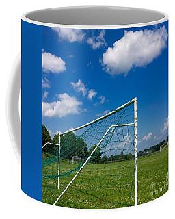 Goal. Football Pitch. France Coffee Mug