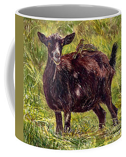 Goat Piggybackers Coffee Mug