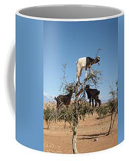 Goats In A Tree Coffee Mug