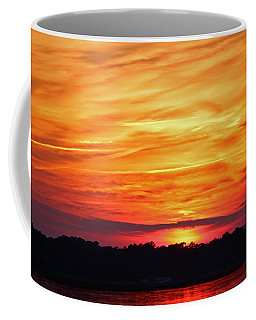 God Paints The Sky Coffee Mug