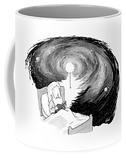 God Reads In Bed Coffee Mug
