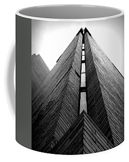 Goddard Stair Tower - Black And White Coffee Mug