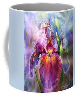 Goddess Of Healing Coffee Mug by Carol Cavalaris
