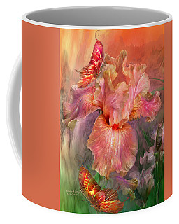 Goddess Of Spring Coffee Mug by Carol Cavalaris