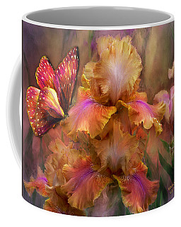 Goddess Of Sunrise Coffee Mug by Carol Cavalaris