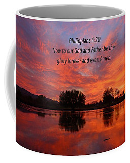 God's Glory Coffee Mug by Lynn Hopwood