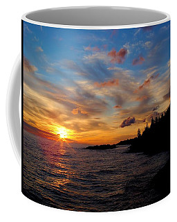 Coffee Mug featuring the photograph God's Morning Painting by Bonfire Photography