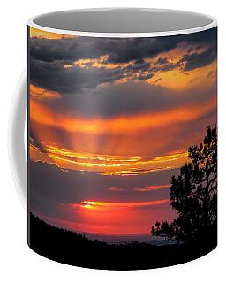 God's Spotlight Over Keystone Coffee Mug