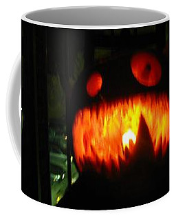Going Up Pumpkin Coffee Mug