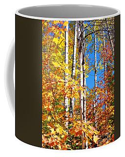 Gold Autumn Coffee Mug